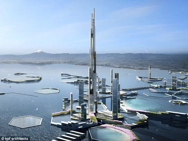 東京に世界一の超高層ビル「スカイマイルタワー」が建設される!世界の高層ビルは?