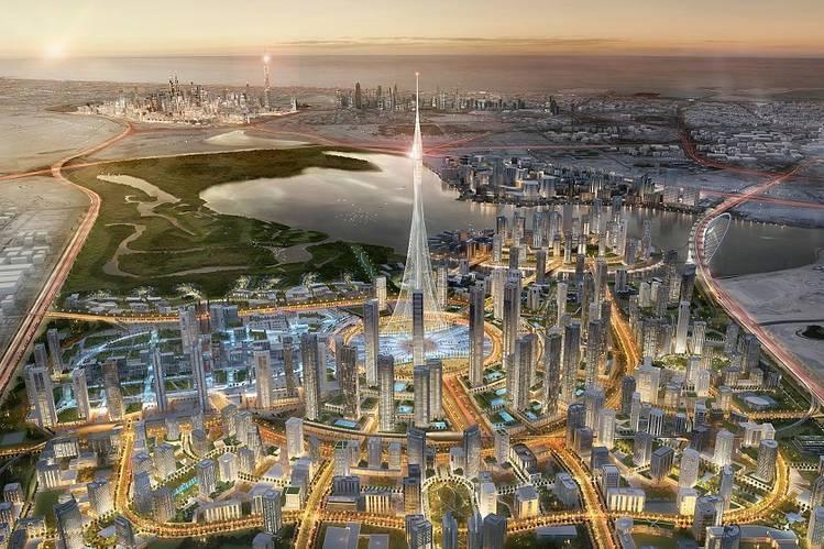 ドバイでブルジュハリファよりも高い世界一のビルが建設される!