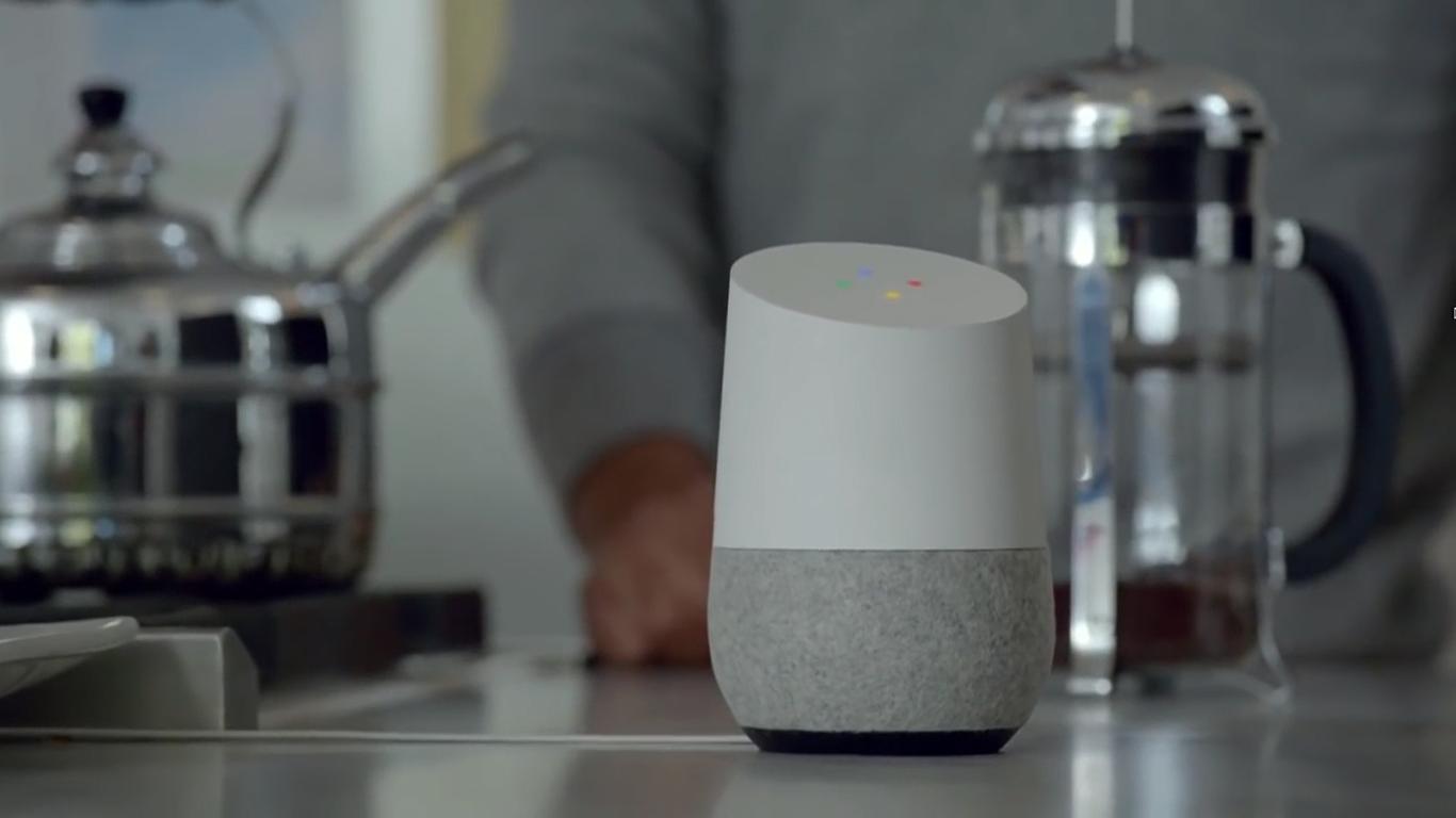 SF映画のような世界がGoogle Home(グーグル・ホーム)によって実現する?!