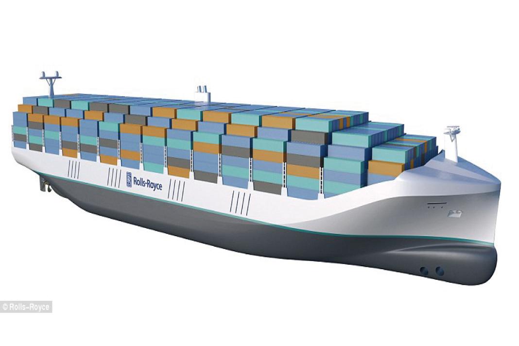 ロールロイスが無人貨物船を開発!未来の貨物船がすごい!