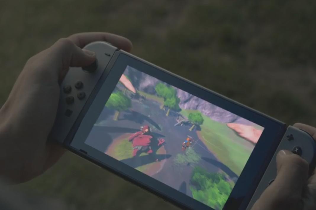 任天堂ゲーム機『ニンテンドースイッチ』の最新情報がついに公開!姿が明らかになる!『ゼルダの伝説』のプレイ動画も公開される!