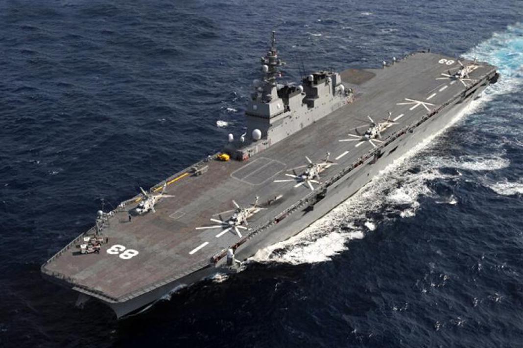 アメリカの北朝鮮攻撃に日本の空母「いずも」が出撃する?!