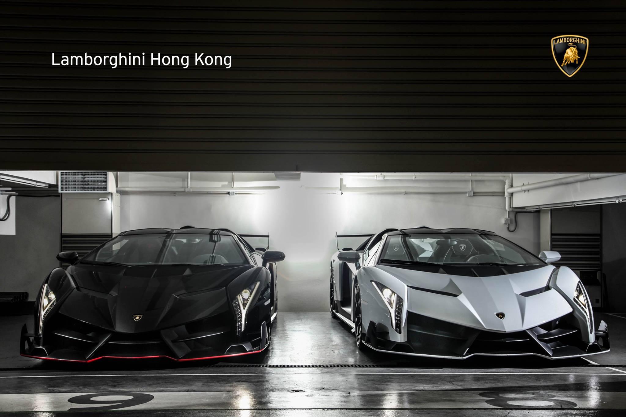 香港のランボルギーニディーラーに5億円する車が2台売られている!