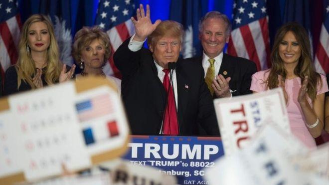 アメリカ大統領選挙で躍進しているトランプ氏とは何者美人の娘とは?!