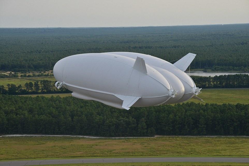 世界最大の飛行船エアランダー10とは?!